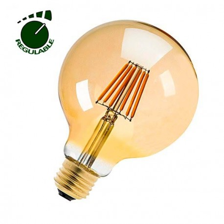 BOMBILLA REGULABLE LED OLD 360º 6W GLOBO