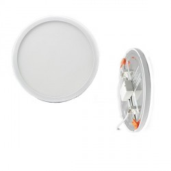 DOWNLIGHT PANEL 8W REDONDO CORTE VARIABLE