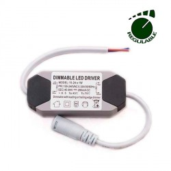 DRIVER REGULABLE PARA PANEL LED DE 15 A 24W