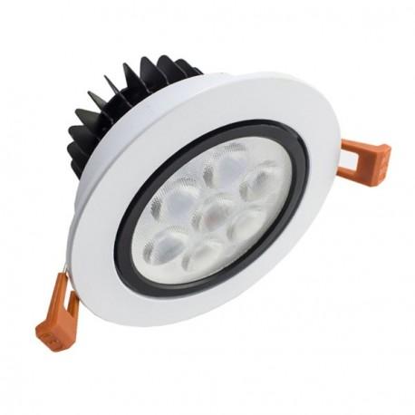 DOWNLIGHT LED 7W ORIENTABLE BLANCO