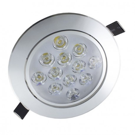 DOWNLIGHT LED 7W ORIENTABLE COLOR METÁLICO
