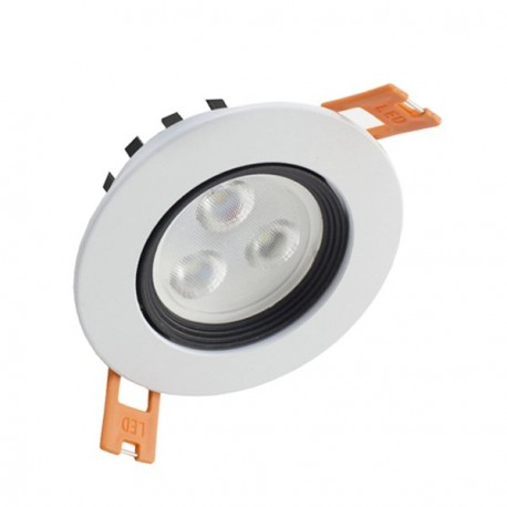 DOWNLIGHT LED 3W ORIENTABLE BLANCO