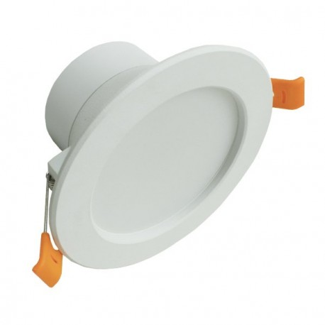 DOWNLIGHT LED FIJO 12W BLANCO GRAN ANGULAR