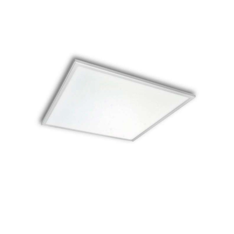 PANEL LED CUADRADO 60 X 60 CM 40W MARCO BLANCO