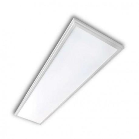 PANEL LED RECTANGULAR 30 X 120 CM 40W MARCO BLANCO