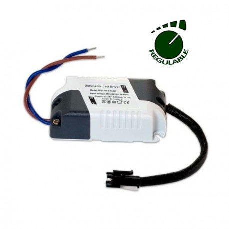 DRIVER REGULABLE PARA DOWNLIGHT LED DE 3W A 7W