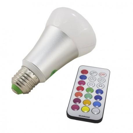 BOMBILLA LED RGBW 10W