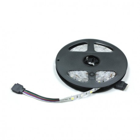 TIRA LED RGBW A 12V Y 14.4 WATIOS/METRO IP20 DE 5 METROS