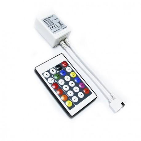 CONTROLADOR PARA TIRA LED MAGIC RGB 12V CON MANDO