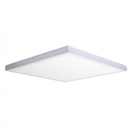 PLAFÓN LED DE SUPERFICIE 48W CUADRADO BLANCO